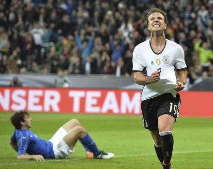 Germania-Italia 4-1: show dei tedeschi. Bonucci infortunato, Insigne sostituito