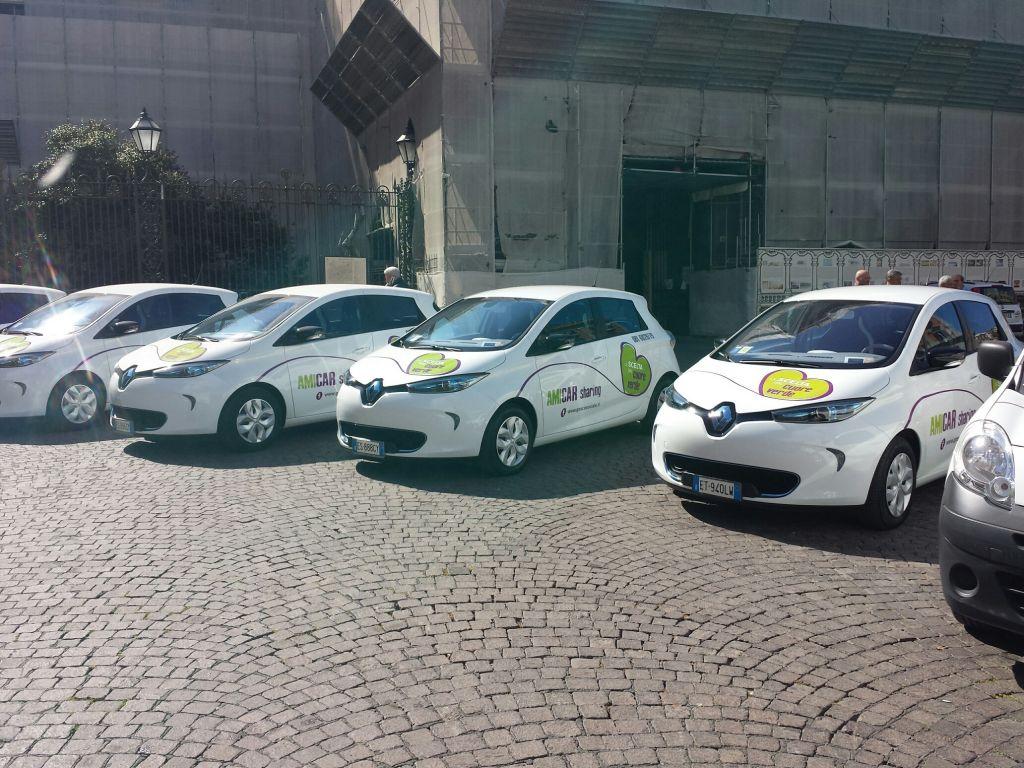 Schemi Elettrici Automobili Gratis : Arriva a napoli il car sharing elettrico: sperimentazione con undici
