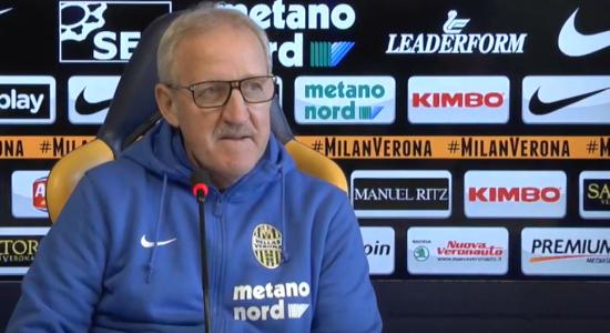 Delneri: «Partita aggressiva e intensa a Napoli, Toni fuori per scelta tecnica»