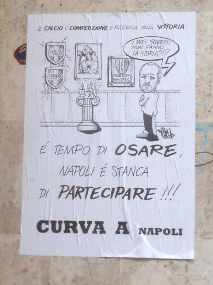 Cari perdenti, la prossima volta firmate col vostro nome, non parlate a nome di Napoli