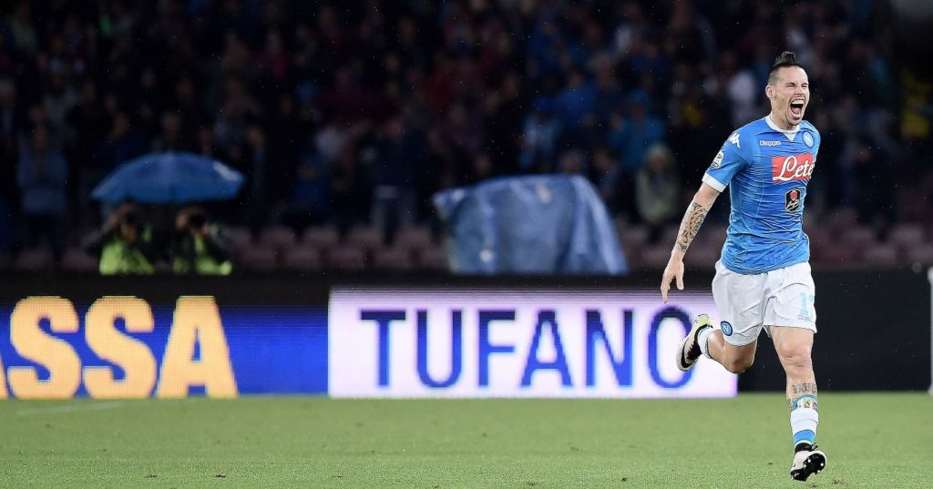 Hamsik come Maradona, capitano e goleador: 10 reti in campionato, belle e importanti