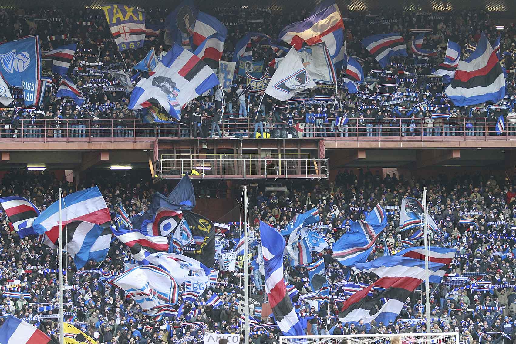 Giudice Sportivo: 15mila euro di ammenda alla Sampdoria per cori anti-Napoli