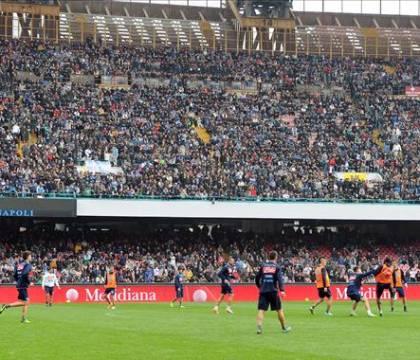 Il Napoli sta pensando ad allenamenti aperti al San Paolo come ai tempi di Maradona