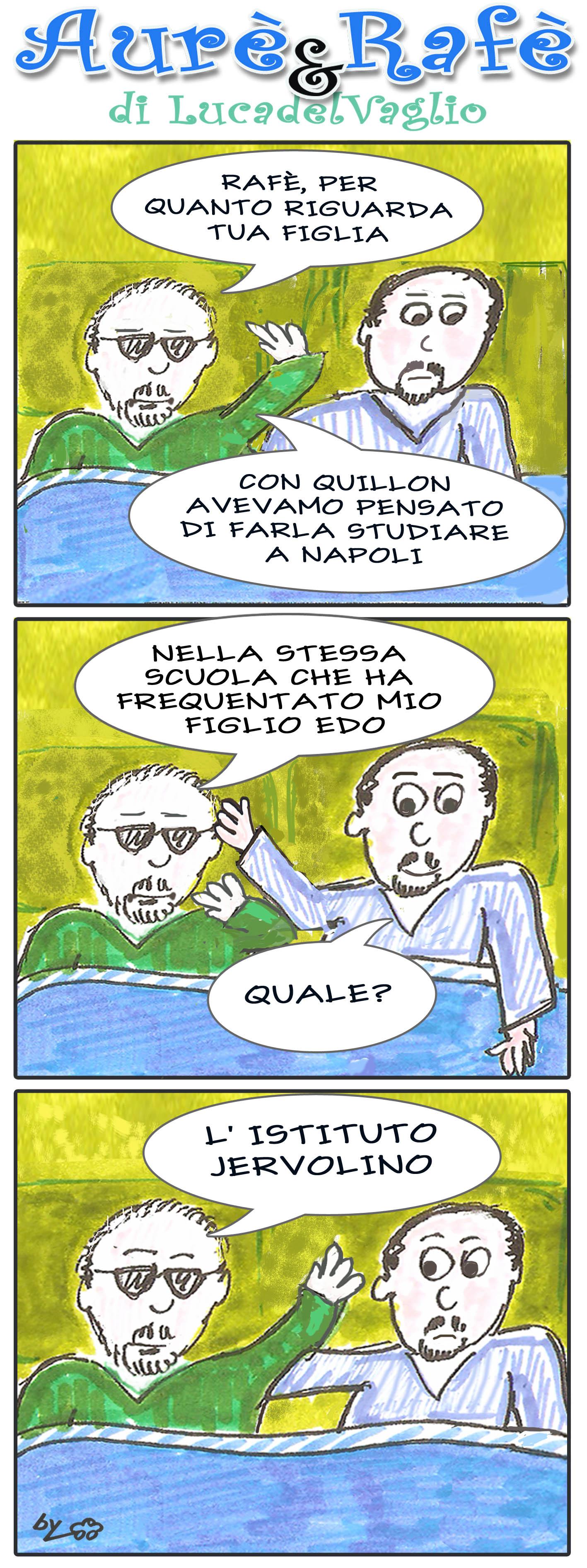Aurè, Rafè e la trattativa con Quillon