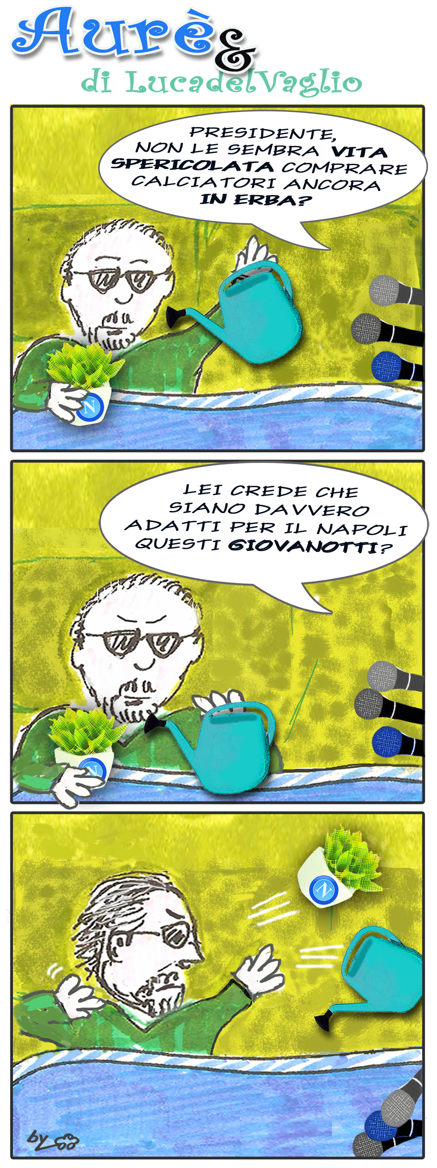 Aure' e il Napoli dei calciatori in erba
