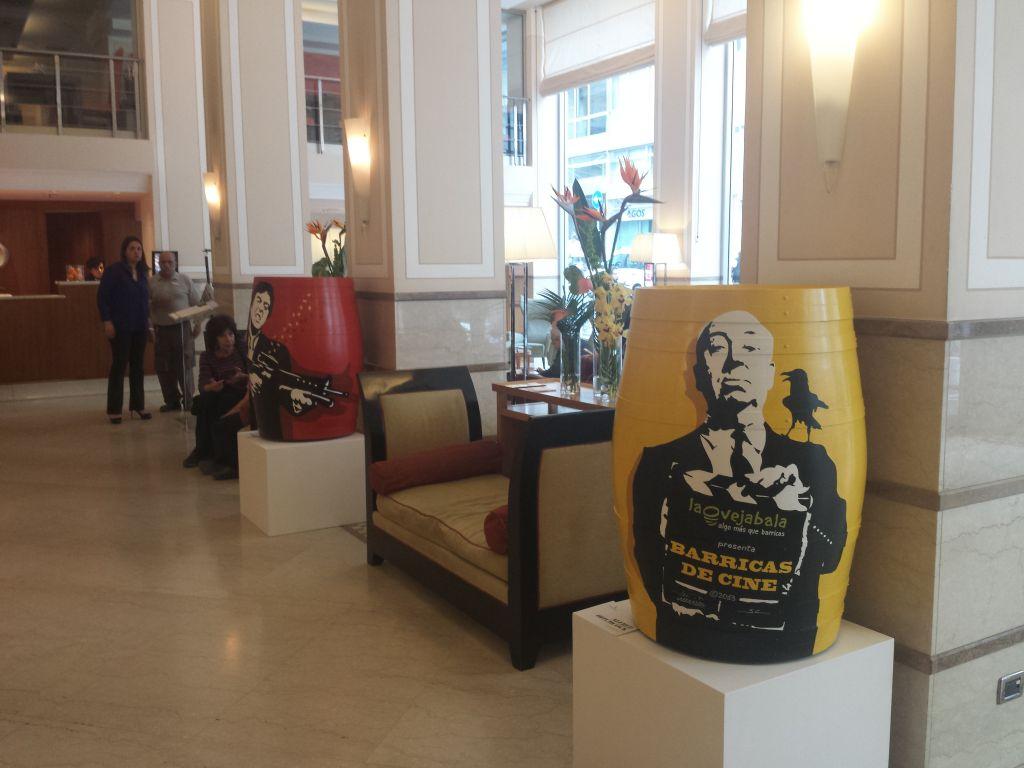 Algo màs que Barricas! Cinema e vino in mostra all'Hotel Mediterraneo