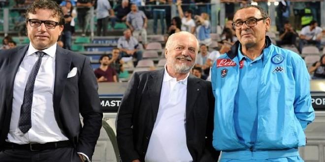 Sarri: «De Laurentiis voleva spendere, Giuntoli ha avuto le palle di non comprare a caso»