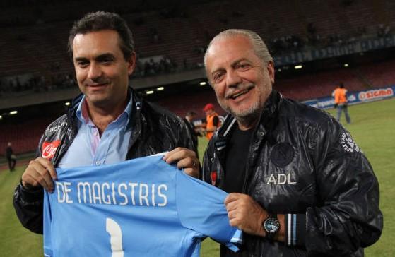 De Laurentiis: «de Magistris smetta di fare il Masaniello, altrimenti gli chiedo i danni»