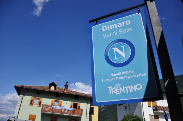 Il Napoli a Dimaro dal 5 al 25 luglio (col secondo posto, diventerebbe 8-27)