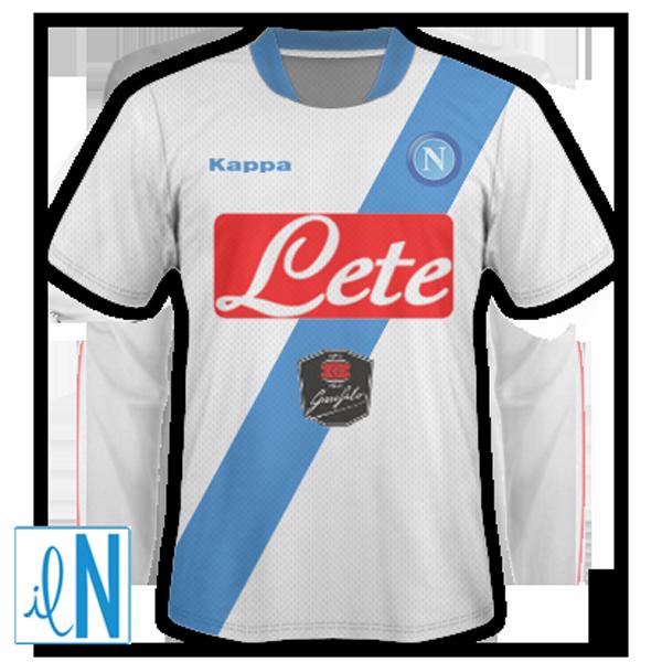 Seconda Maglia Napoli nazionali