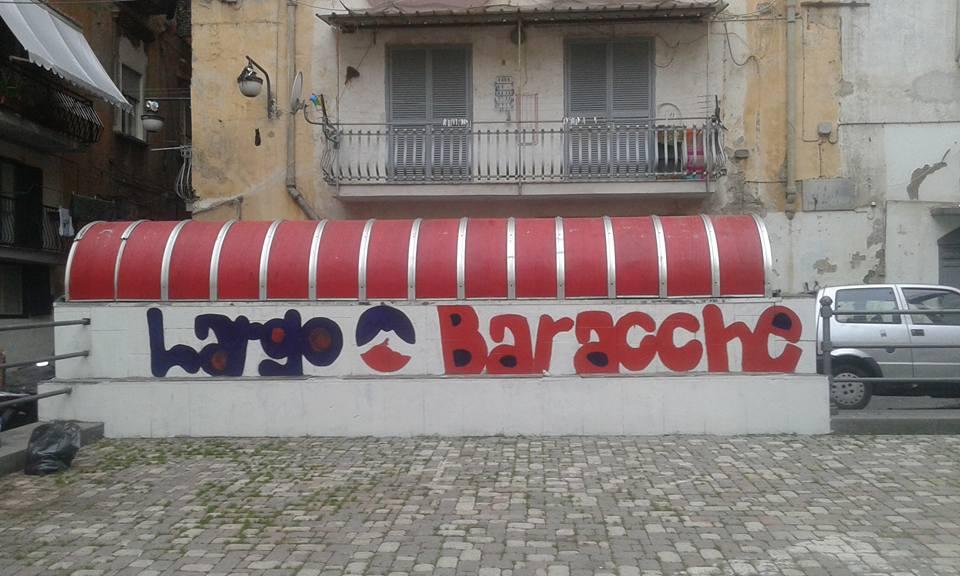 Quartieri Spagnoli, ripulito Largo Baracche che sabato ospiterà la Notte d'Arte