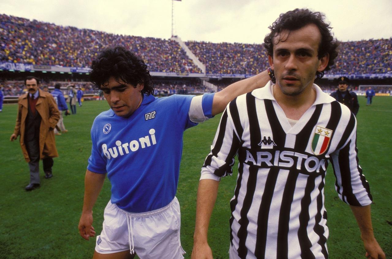 I Napoli-Juventus dell'era Maradona