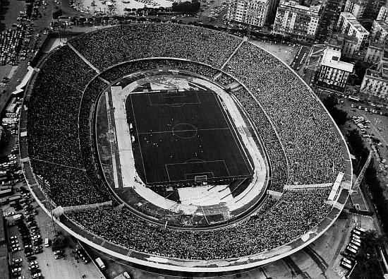 Il nuovo stadio San Paolo potrebbe essere senza la pista di atletica