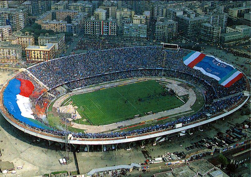 Per il Napoli sarebbe più facile costruire un nuovo stadio fuori Napoli