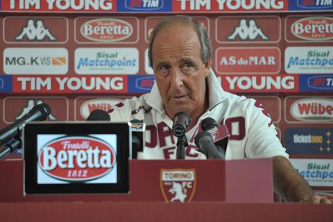 Ventura in conferenza: «Spettatori nel primo tempo, ma cresceremo molto»