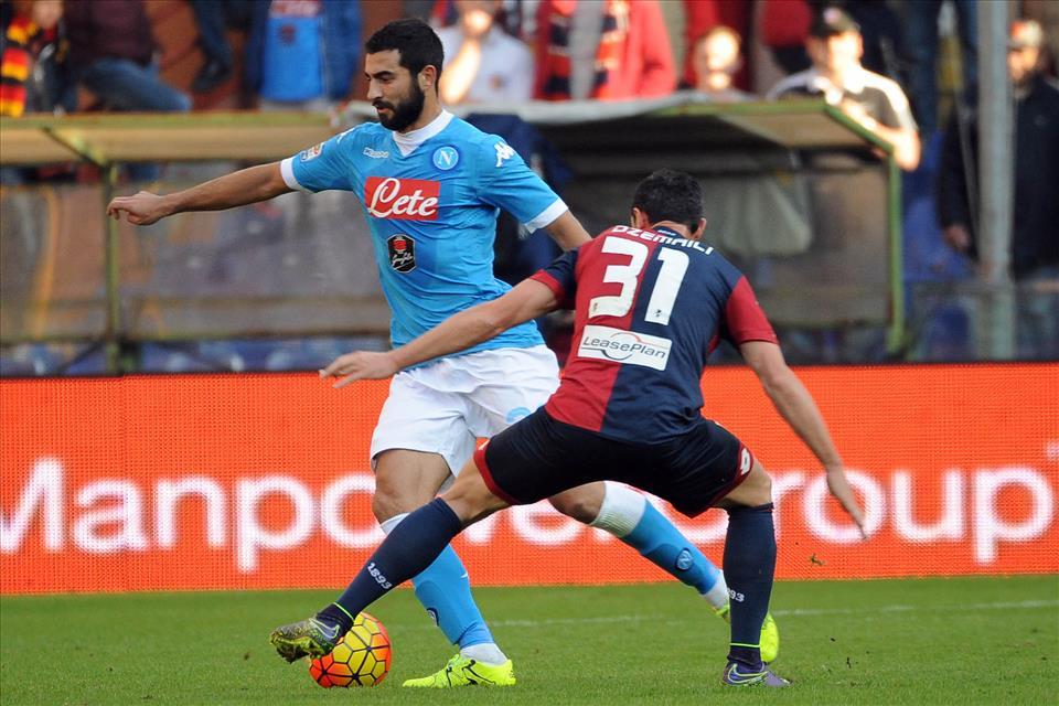 """Genoa-Napoli 0-0, le pagelle / Albiol """"meu Deus"""" da nove. Hamsik legnoso, Callejon quanti errori. Meglio che manchi il culo invece dell'anima"""