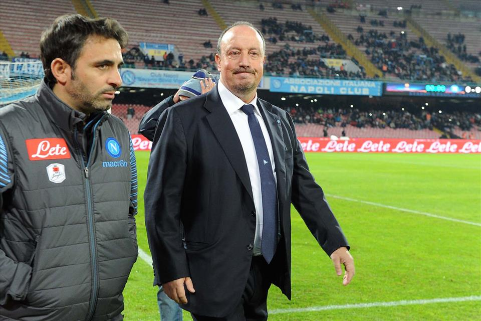 Benitez fa i complimenti a Pecchia per la Coppa Italia di Serie C vinta con la Juventus