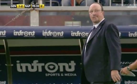 Bisogna meritarselo Benitez e fin qui Napoli non lo merita