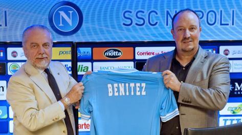 """De Laurentiis, con Benitez il """"metodo Mazzarri"""" non basterà"""
