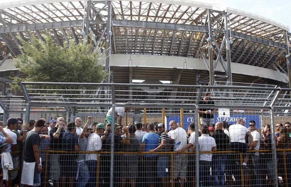 Napoli-Fiorentina, biglietti under 14 a 2,50 euro in tutti i settori