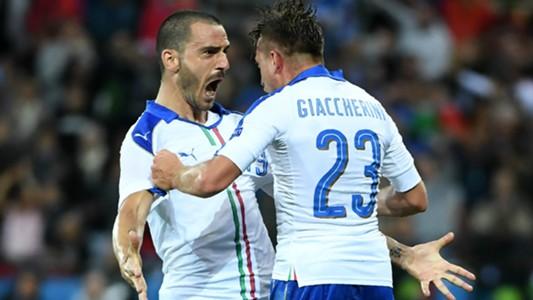 L'asse Bonucci-Giaccherini è lo sguardo cocciuto di Conte