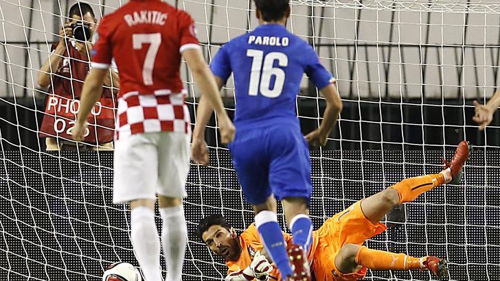 Buon pareggio dell'Italia (1-1) a Spalato contro la Croazia