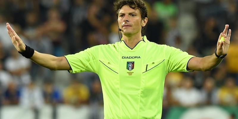 Damato è l'arbitro delle prime volte: da Fermo ad Hamsik col Brescia, è cresciuto insieme a noi