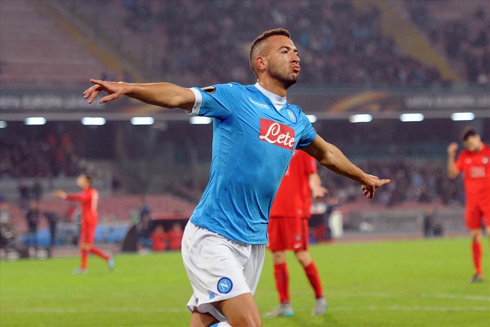 Napoli-Midtjylland 5-0, mammtweet/ Vedi OMAR quant'è bell!  E che gol  Finalmente noi napoletani ci impareremo comm cazz si dice EL KADDOURI