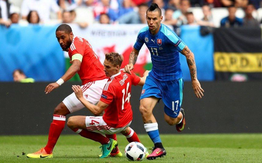Bale segna e batte Hamsik, prima vittoria europea per il Galles: 2-1