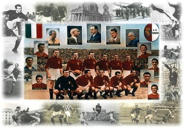 Dall'omaggio di Mario Luzi al grande Torino, fino a Quagliarella