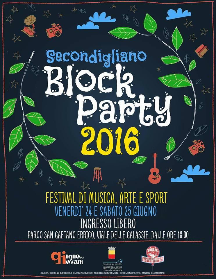 Secondigliano Block Party: una festa per denunciare il degrado del parco comunale