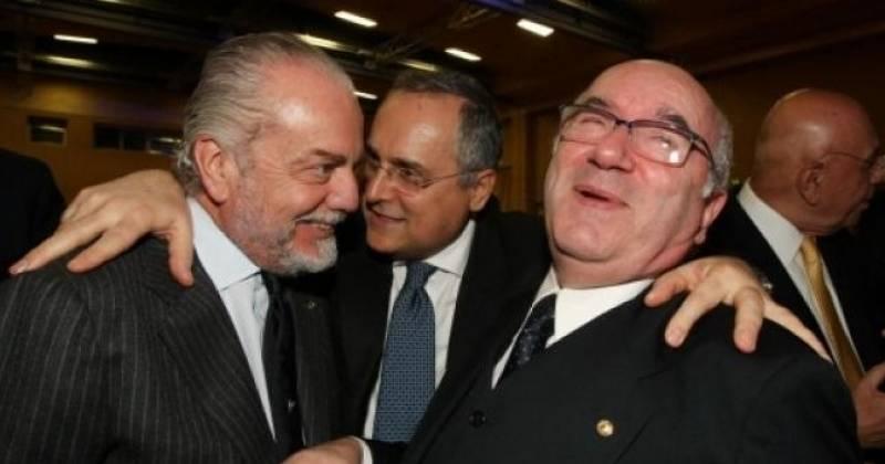 De Laurentiis attacca Tavecchio e Ventura: maramaldeggiare è poco elegante