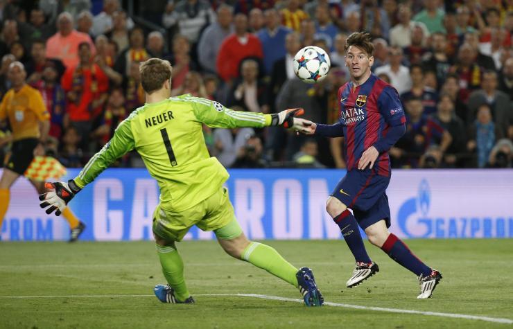 Messi e Maradona