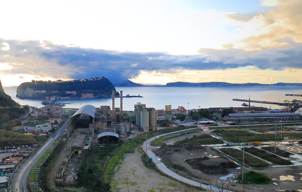 C'è il progetto per lo stadio del Napoli a Bagnoli: 40mila posti