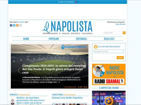 Il Napolista, sette anni di solitudine