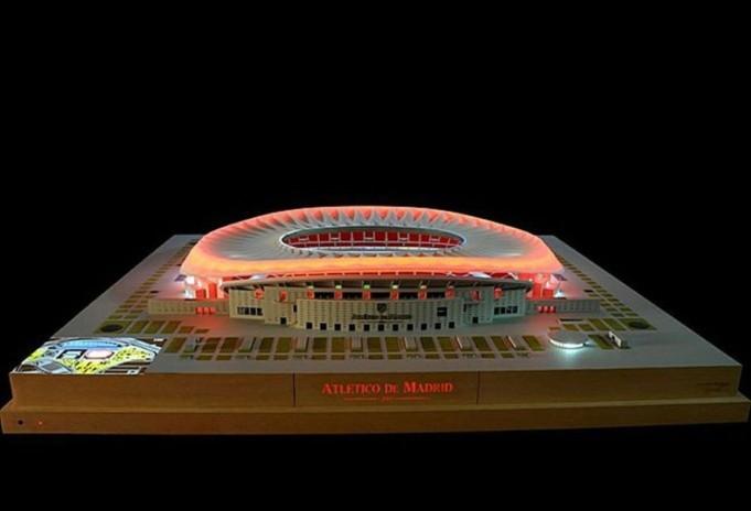 Il nuovo stadio dell'Atletico Madrid