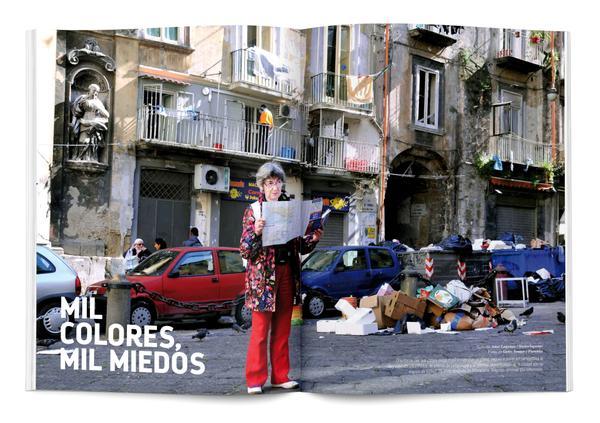 La rivista Panenka si dedica a Napoli e non riesce a rinunciare al triplice luogo comune degrado-rifiuti-camorra