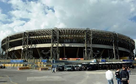 Una domenica all'improvviso vidi lo stadio San Paolo a Fuorigrotta