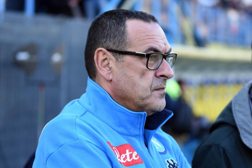 Sarri: «Scudetto? L'ossessione può avere risvolti positivi, noi pensiamo solo a Lipsia e Cagliari»