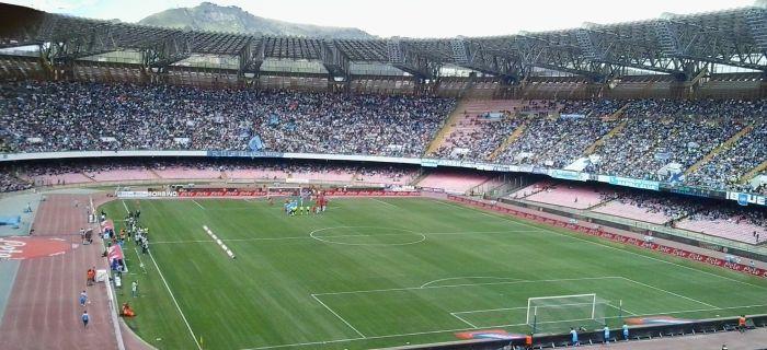 In lotta per lo scudetto, il Napoli ha riempito il San Paolo solo per il 71%