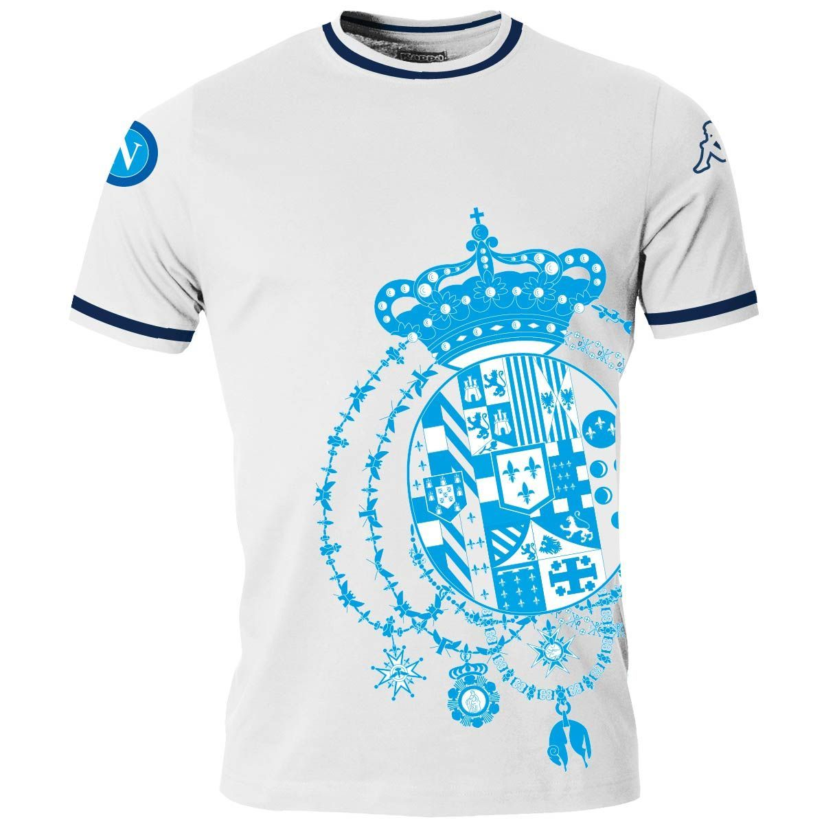 La t-shirt borbonica del Napoli: l'ultimo atto del De Laurentiis meridionalista che diede del paraculo a Cavour