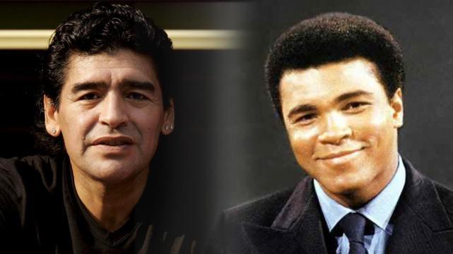 Quella volta che Maradona andò a casa di Muhamnmad Ali