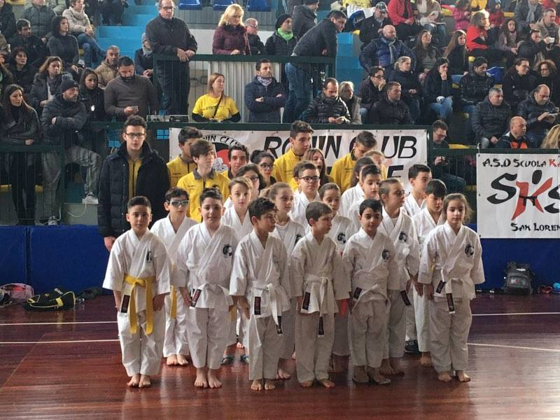 L'Asd Ronin Club si classifica terza al campionato regionale di Karate