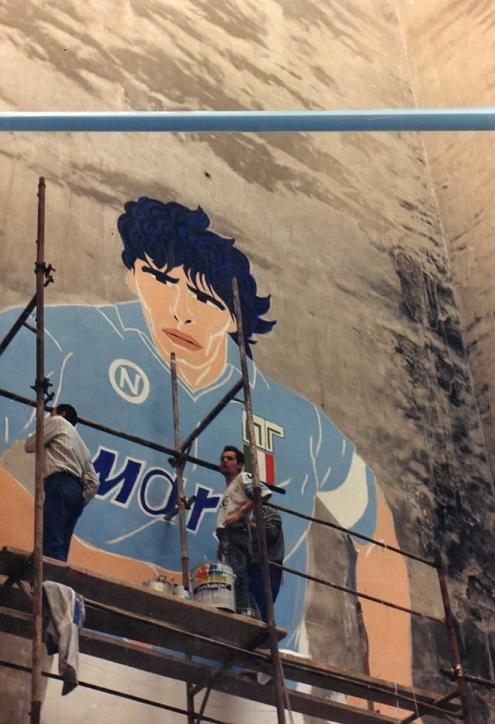 Murales Maradona, la famiglia Filardi: «Mario era un artista, merita un posto dove riposare in pace»