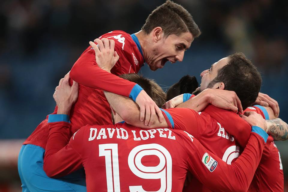 Lazio-Napoli 0-2, pagelle / Jorginho vigile urbano e giocoliere. Insigne: futtatenne dell'Europeo. Questo Napoli divorerebbe un elefante