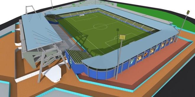Il Frosinone presenta il progetto del suo nuovo stadio: 16mila posti e aree commerciali gestite dal club