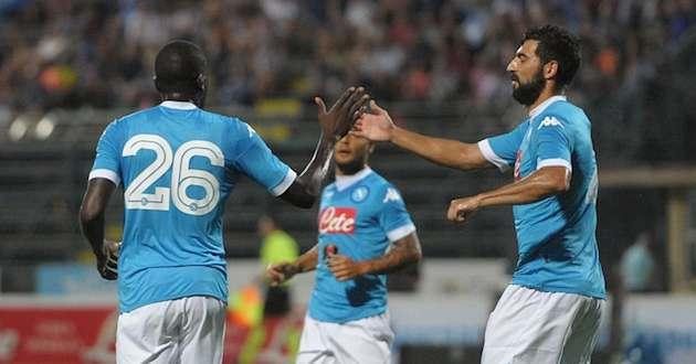 Il Napoli subisce lo stesso numero di tiri a partita della Juventus (8,7)