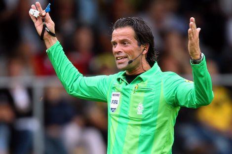Macellaio e comparsa, con l'arbitro Nijhuis (dirigerà Villarreal-Napoli) le italiane non hanno mai perso