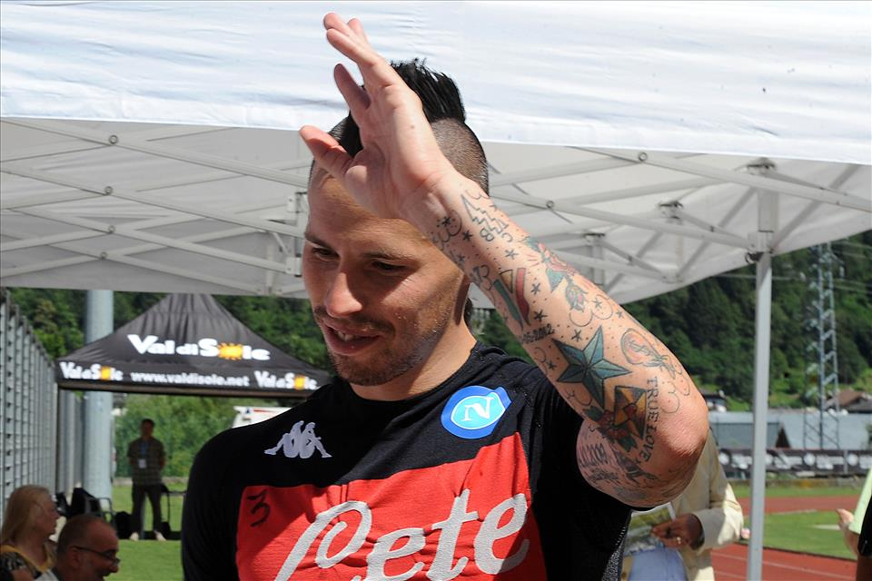 Hamsik supera Maradona: 82 gol in serie A col Napoli