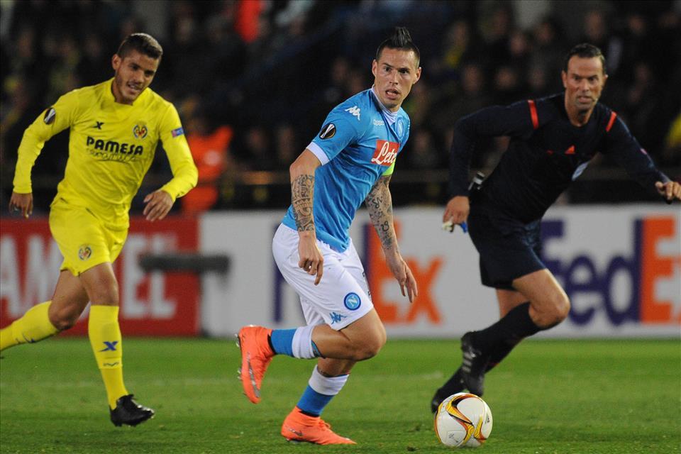 Video/ Napoli-Villareal, gol di Hamsik